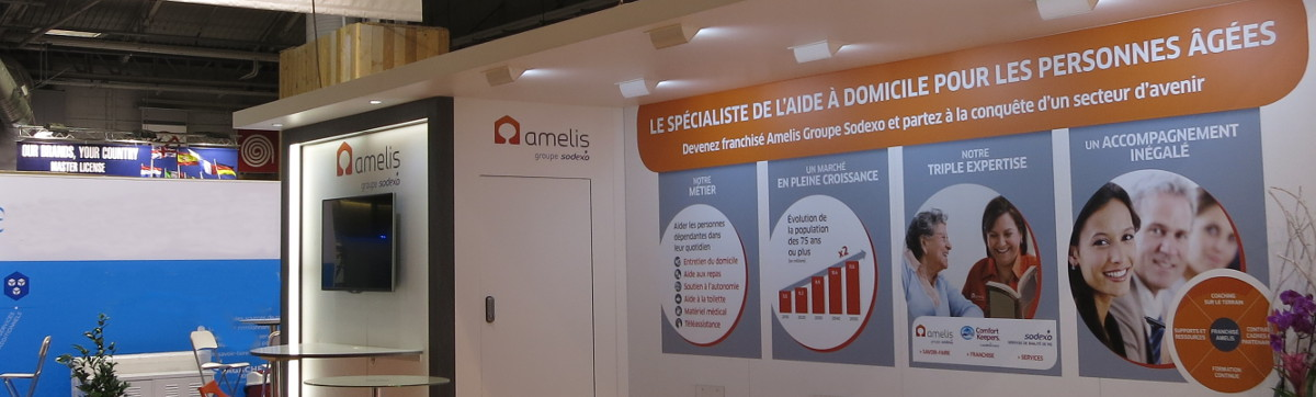D couvrez toutes les actualit s amelis franchis s amelis for Salon virtuel de la franchise